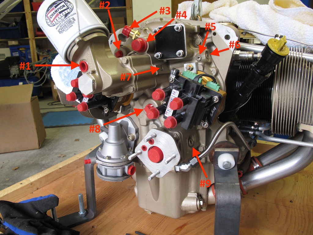 Mickey's RV8 Site | Engines